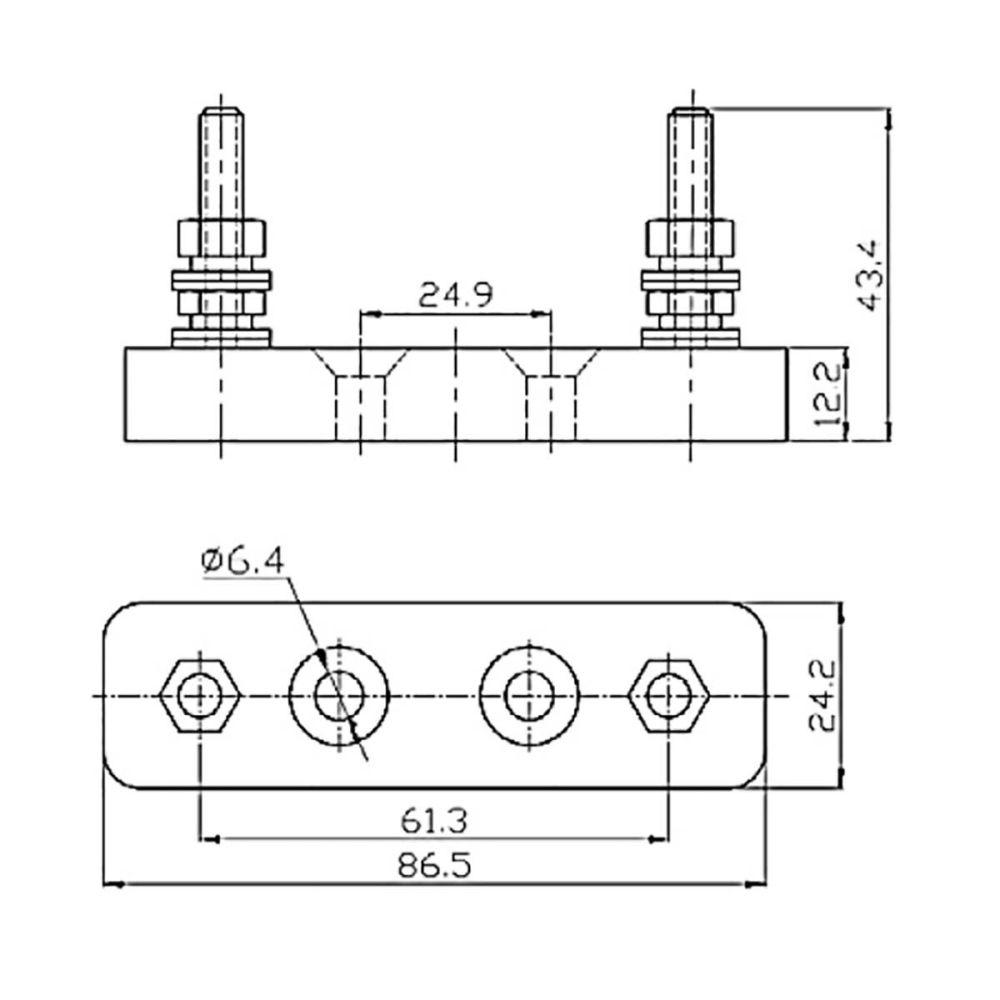 medium resolution of porte fusible anl fuse victron energy fusibles et coffrets de protection