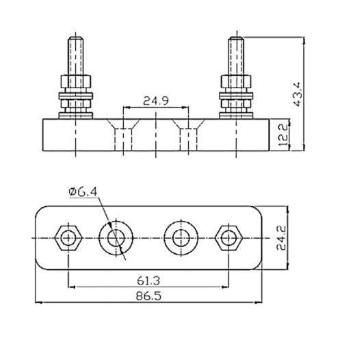 small resolution of porte fusible anl fuse victron energy fusibles et coffrets de protection