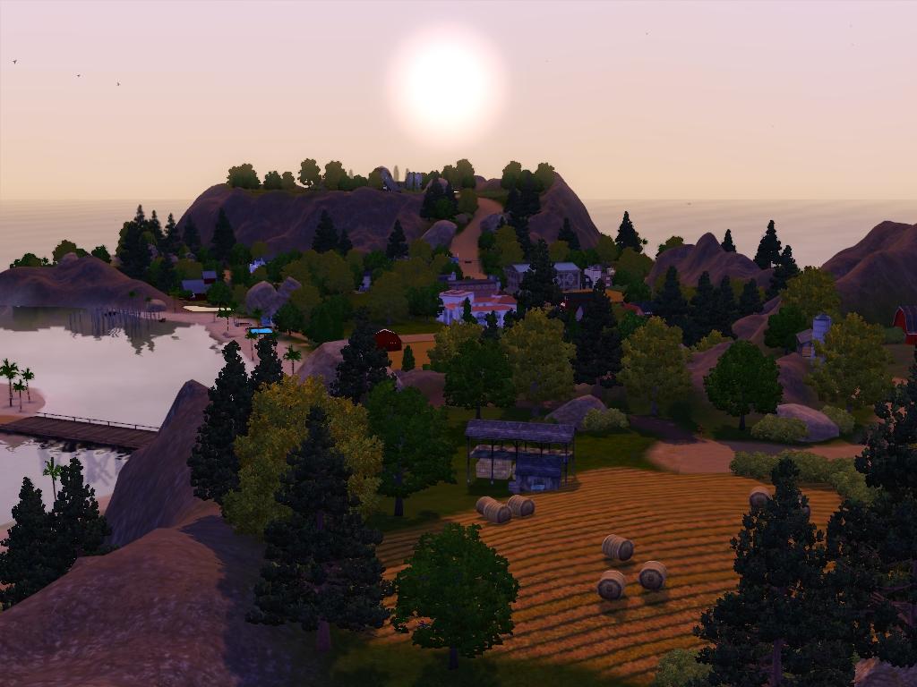 Sims 3 Worlds - Desain Terbaru Rumah Modern Minimalis