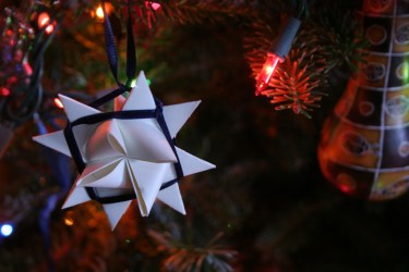 Star Ornament for Christmas Eve festivities