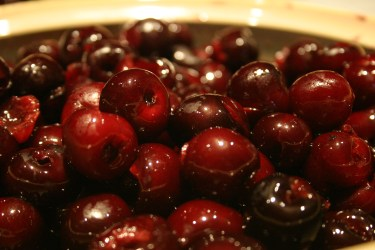 Cherries for freezing