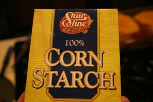 cornstarch for gravy