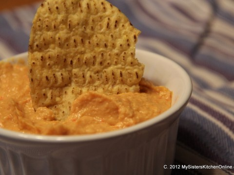 Make Your Own Roasted Red Pepper Hummus
