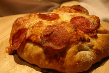 stuffed pizza for the super bowl party