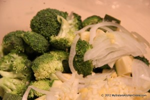 Veggies for Broccoli Chicken Stir-Fry