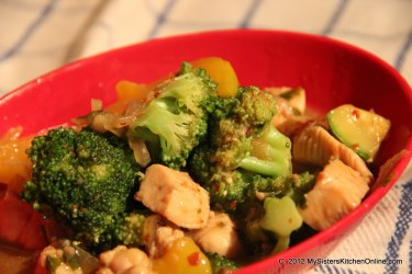 Spicy Broccoli Chicken Stir-fry