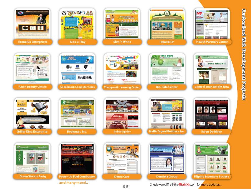 Customized Web Development Projects