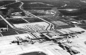 US's First Plane hijacking, Jacksonville, Fl, Airport