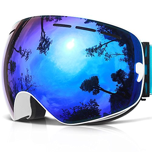 48b606342a27 COPOZZ G1 Ski Goggles For Snow Snowboard Snowmobile Skate – For Men Women  Youth