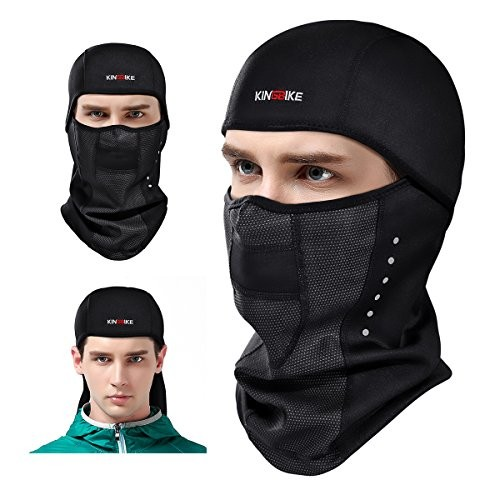 b9b812609 KINGBIKE Balaclava Ski Face Mask Windproof Men Women Thermal Fabric  Breathable Design Cycling Skiing Winter Masks for Softball Motorcycle  Airsoft ...