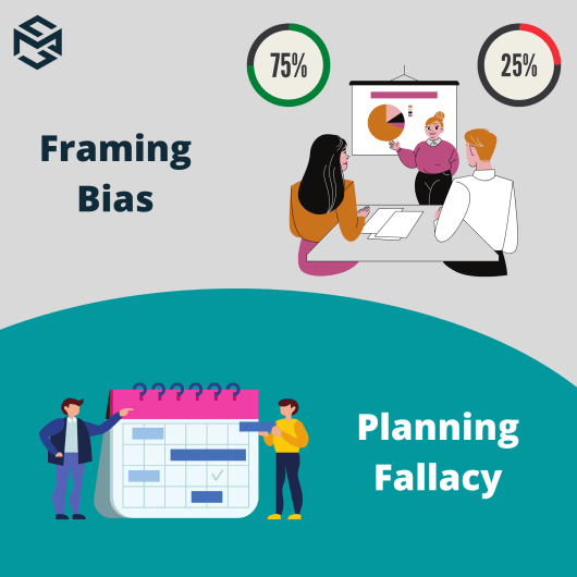 Framing bias and Planning fallacy