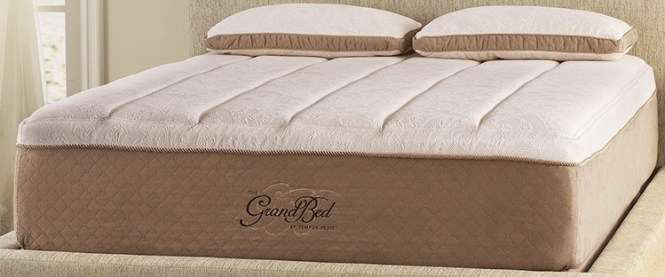 The Tempur Pedic Grandbed Mattress Is A 15 Material Made To Provide Extra Support Each Night With Comfort And Without Physical Stress