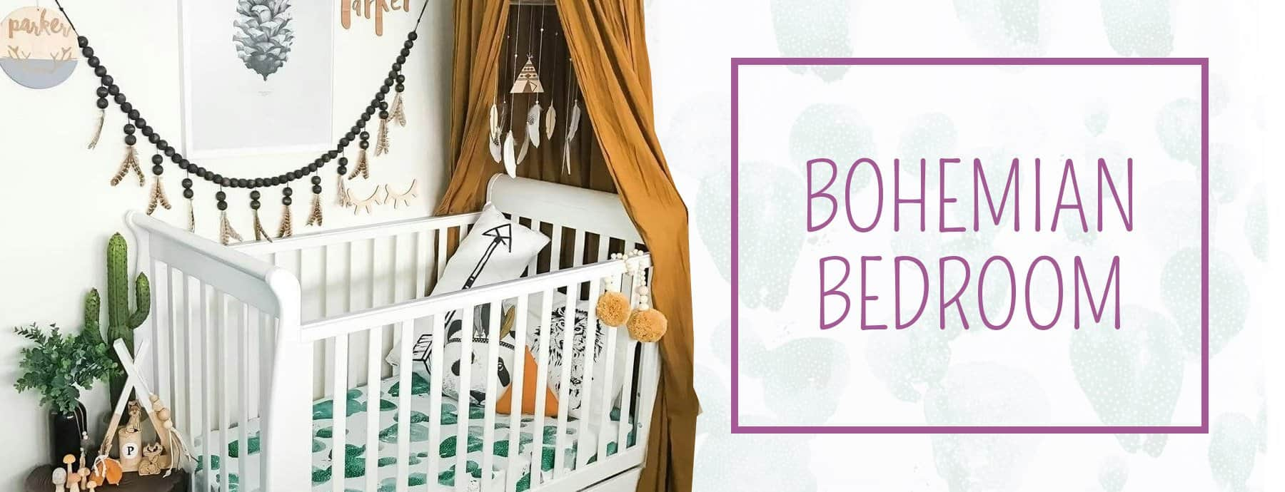 Boho Room Decor The 9 Must Have Decor Elements For Your Kid S Room Nursery Kid S Room Decor Ideas My Sleepy Monkey