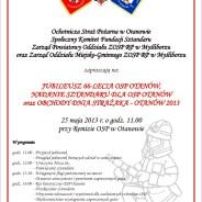 Święto Strażackie – OTANÓW 25 maja 2013