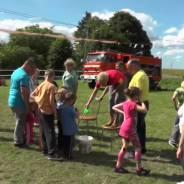 Strażacki dzień dziecka w Myśliborzycach