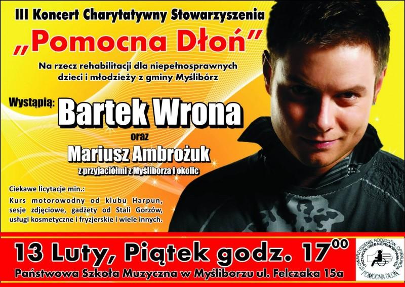 plakat koncertu Pomocna Dłoń