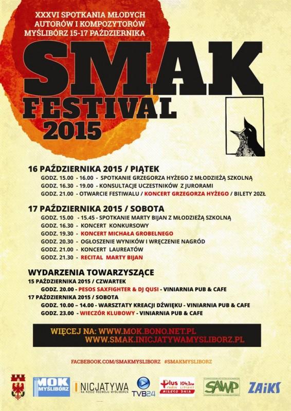 Plakat SMAK 2015 PL