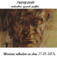 """""""TWÓRCZOŚĆ"""" – wystawa Zbigniewa Słoninki"""