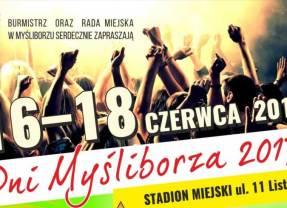 Dni Myśliborza 2017 – czyli Ruda tańczy jak szalona, a ja tańczyć chcę…