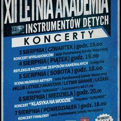 XII Letnia Akademia Instrumentów Dętych