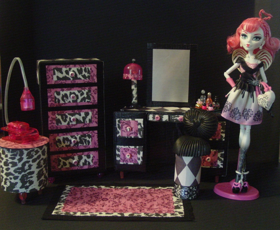 My Small Obsession Monster High Dollhouse Project