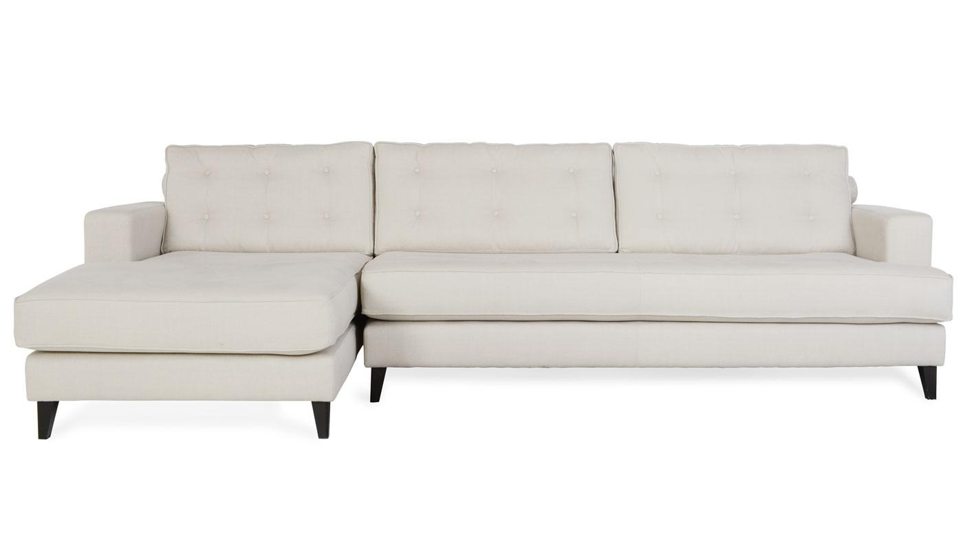 12 foot sofa cheap bed in manila heal 39s mistral left hand corner linen hessian black