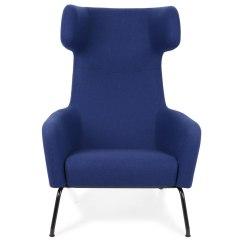 Blue Wing Chair Willow Charles Rennie Mackintosh Heal 39s Forum Melange Dark With Black Base
