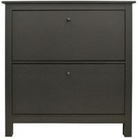 Flip Door Slimline 8-Pair Shoe Storage Cabinet - MySmallSpace