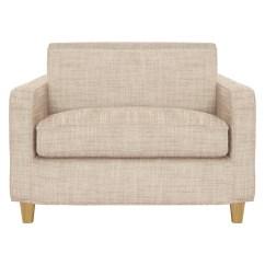Habitat Chester Sofa Leather Ashley Reclining Set Natural Italian Woven Fabric Compact