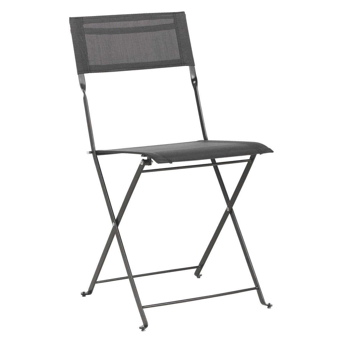black metal folding garden chairs hanging chair aliexpress habitat grange set of 2