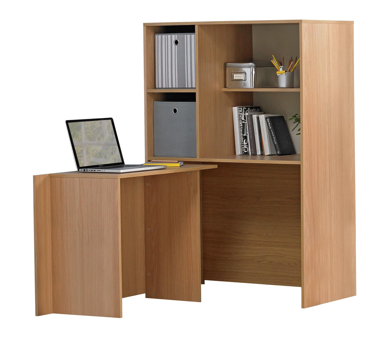 hideaway table and chairs argos wedding reception chair types calgary corner desk oak effect mysmallspace