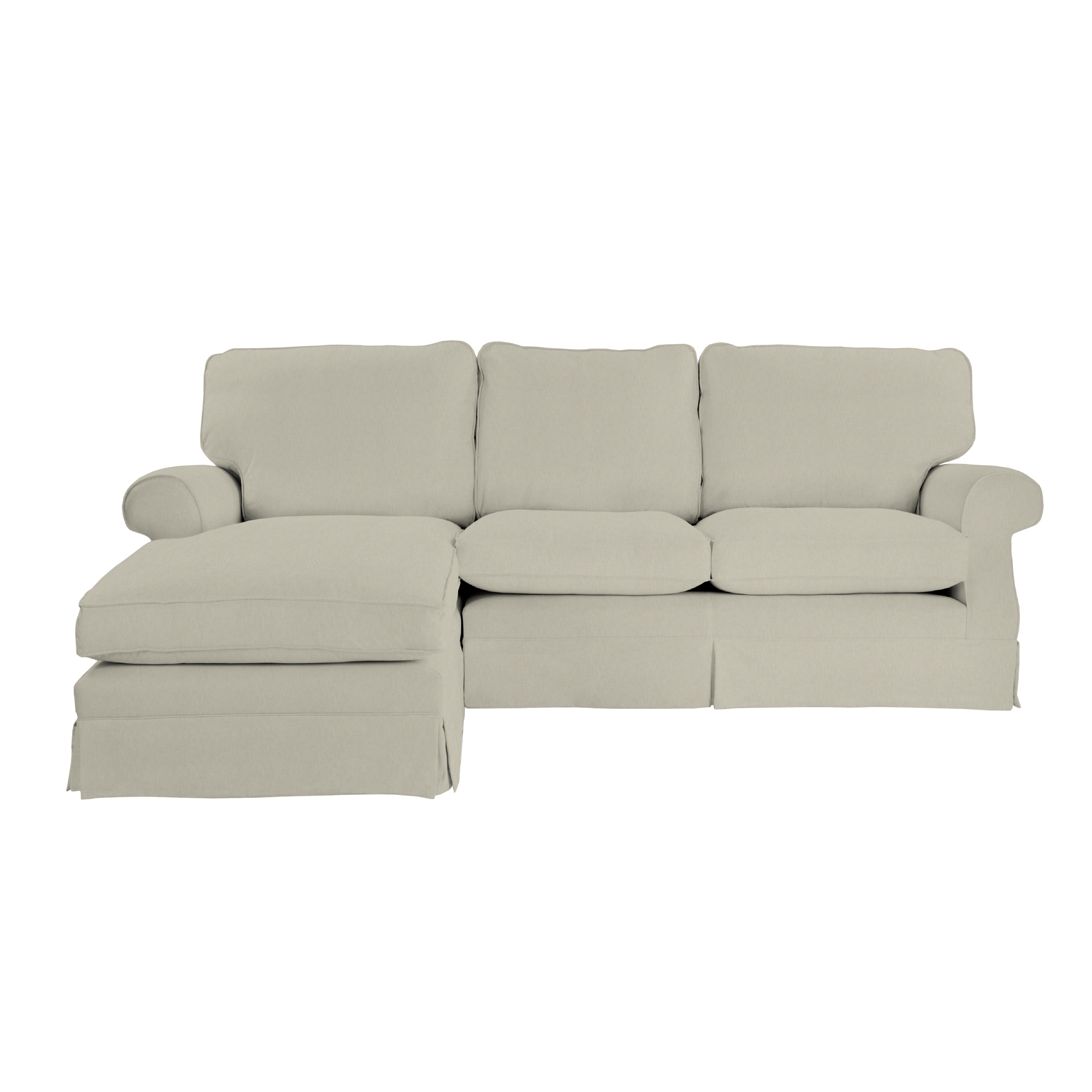 left chaise sofa sectional slipcover two seater bed padstow loose covers end hand facing