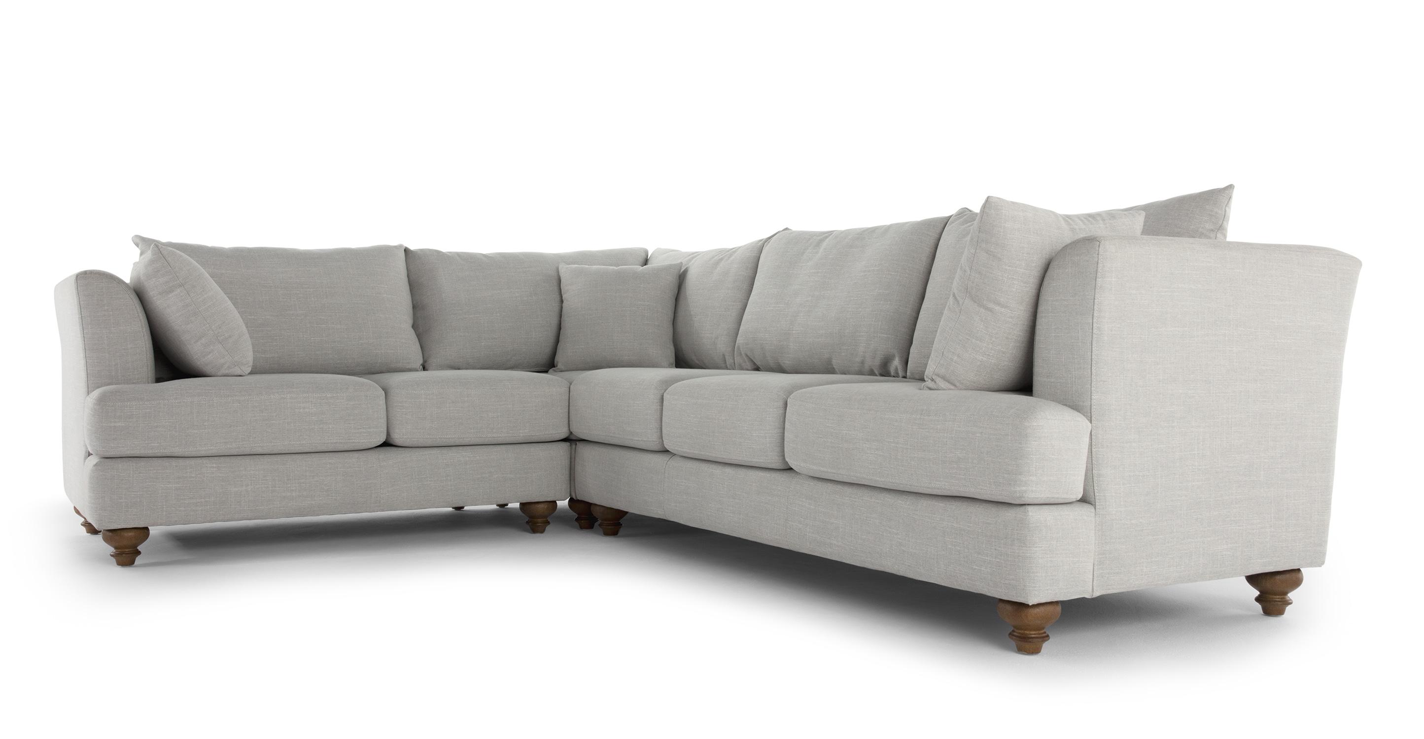 chic sofas uk sofa bed target elliot corner grey mysmallspace