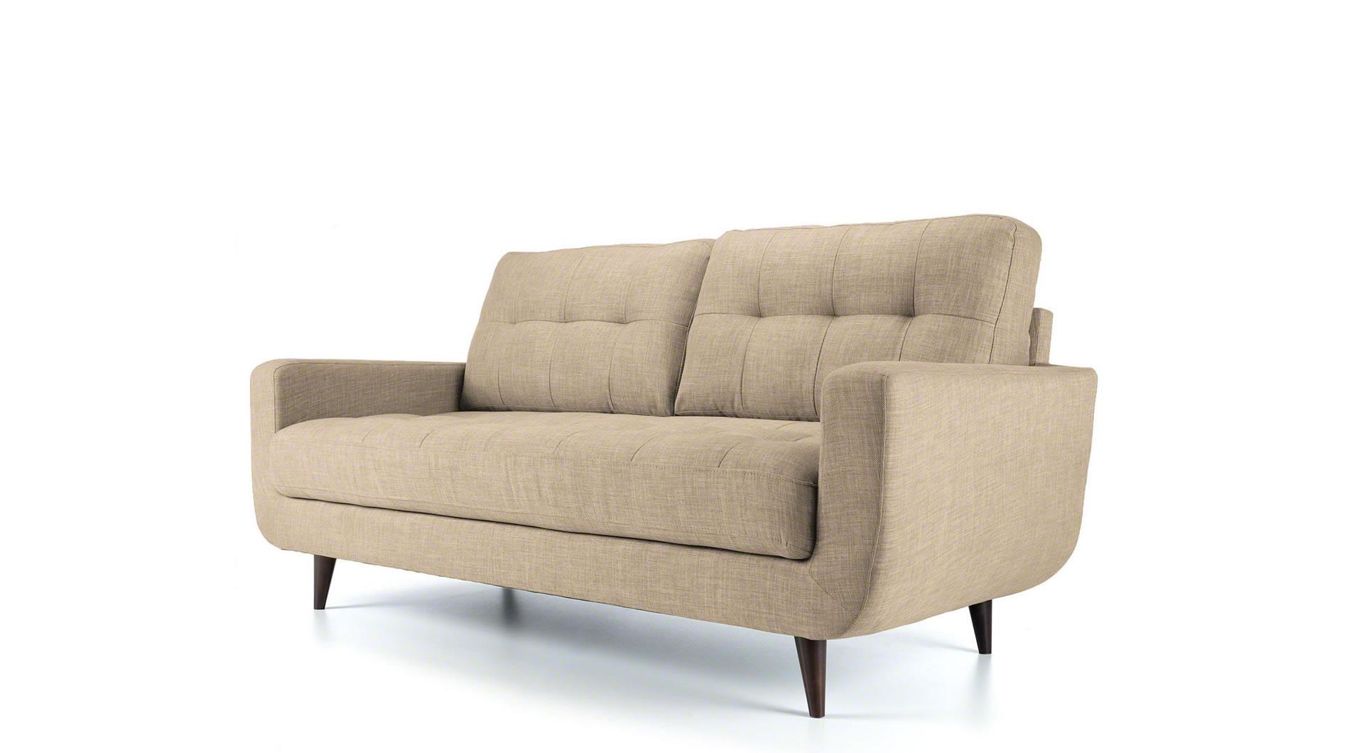 oatmeal sofa pit chloe 3 seater mysmallspace
