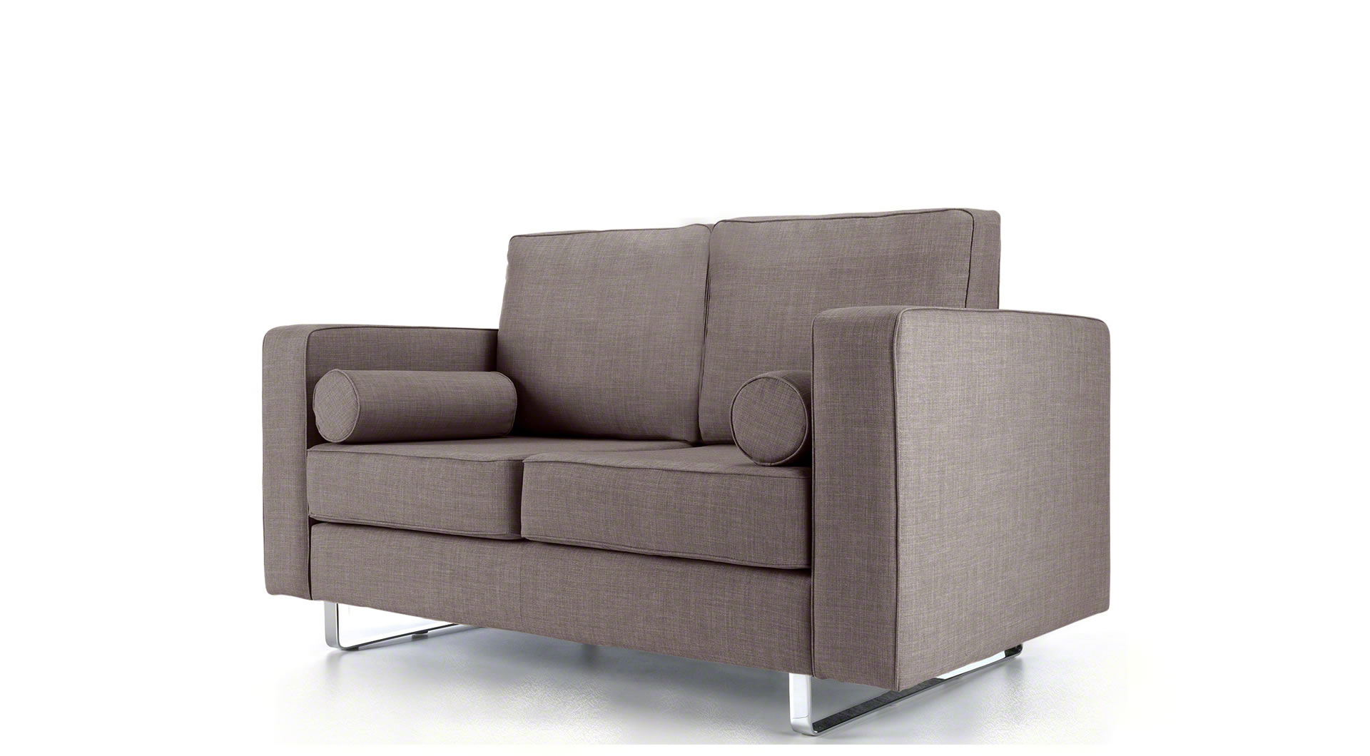 light grey sofa bed uk electric leather recliner eliza 2 seater mysmallspace