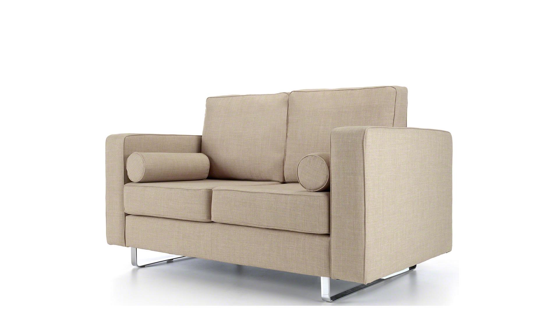 oatmeal sofa wayfair sofas canada eliza 2 seater mysmallspace