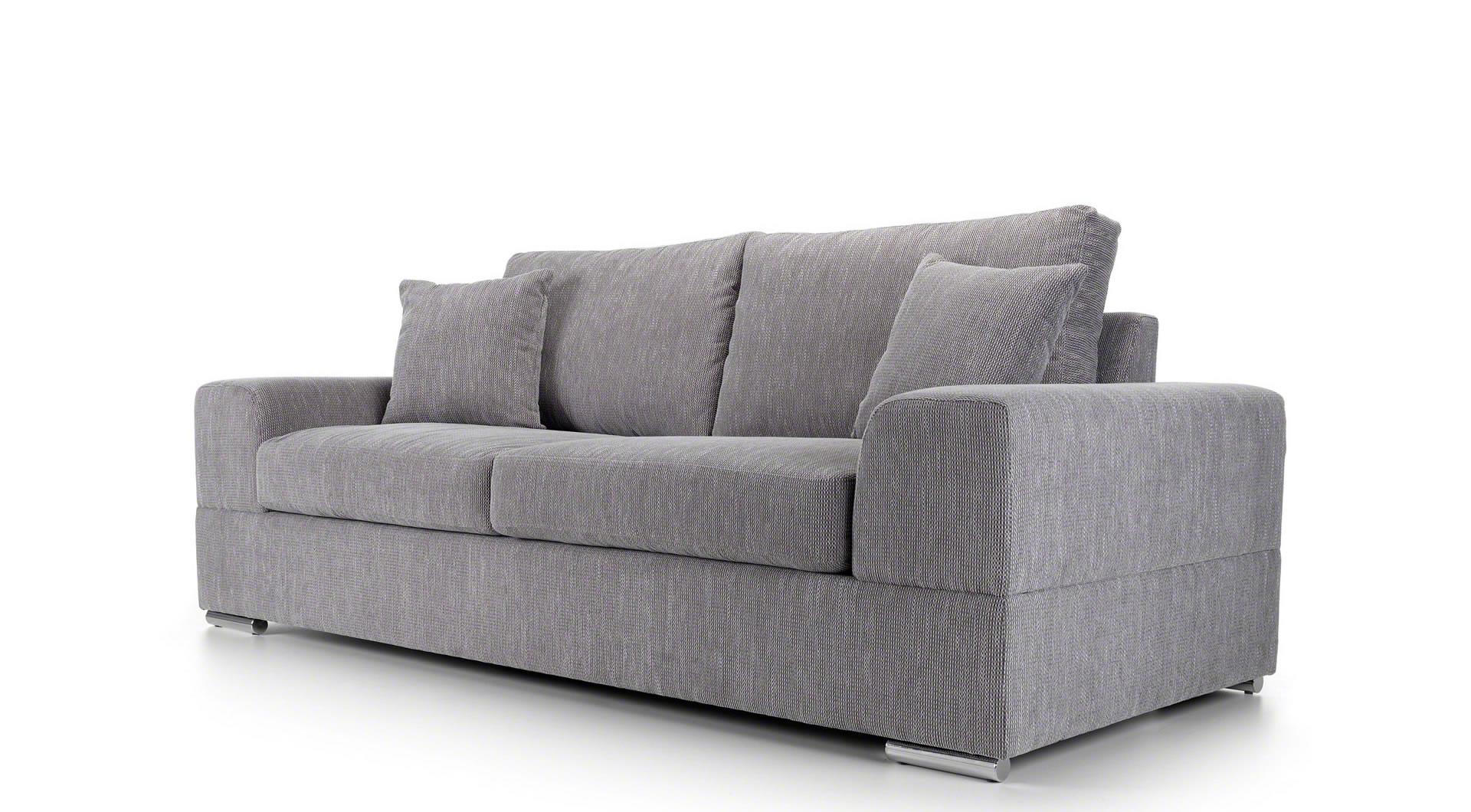 light grey sofa bed uk foam design veda 2 seater mysmallspace