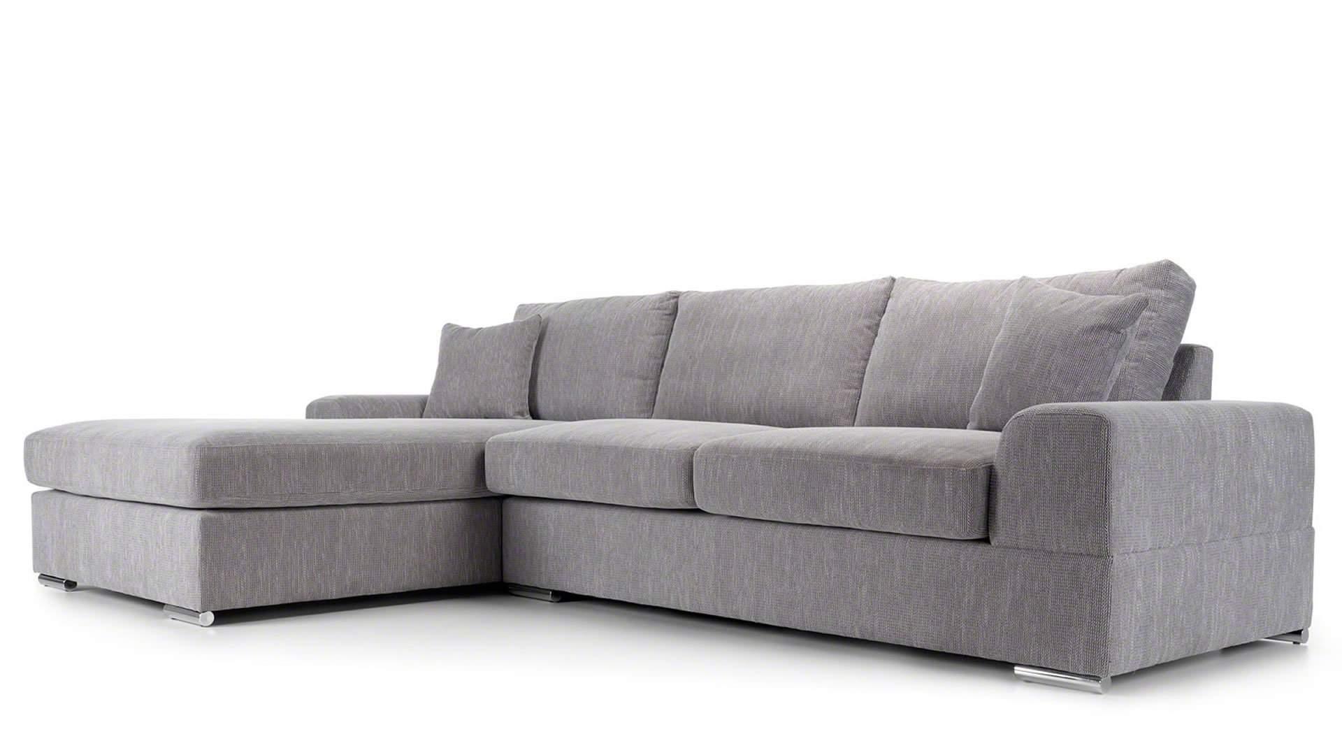 grey and white corner sofa small veda light mysmallspace