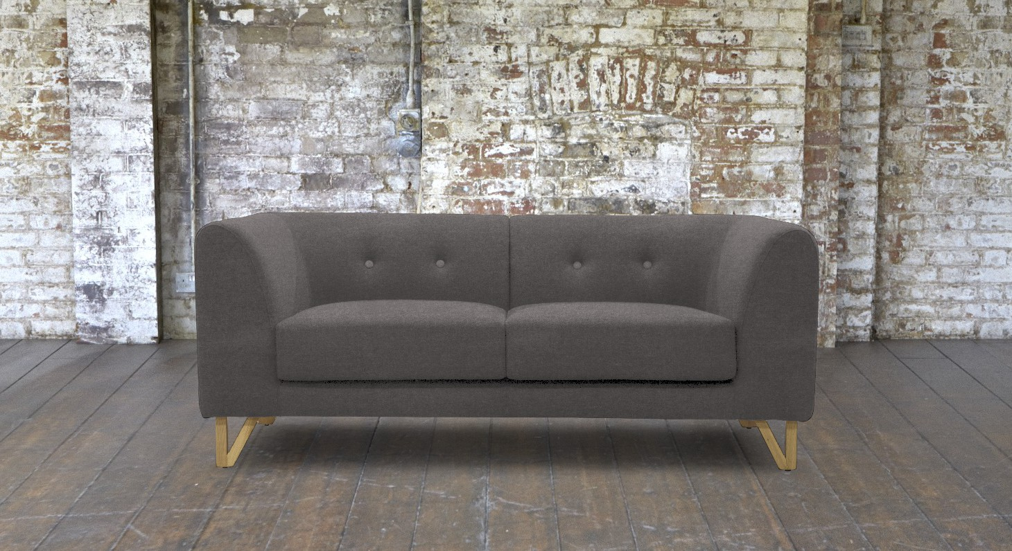 small 2 seater sofa beige leather living room ideas canonbury in grey reading