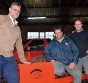 Van links is die broers mnre. Kevin en Conray van Rooyen en Deon Both.