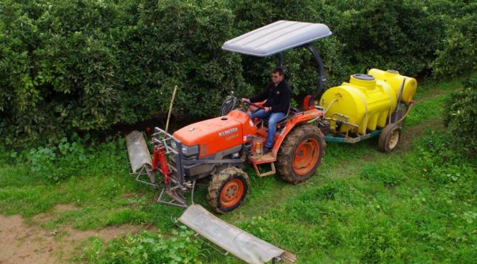 Innovative herbicidal applicator saves time and money with Kubota