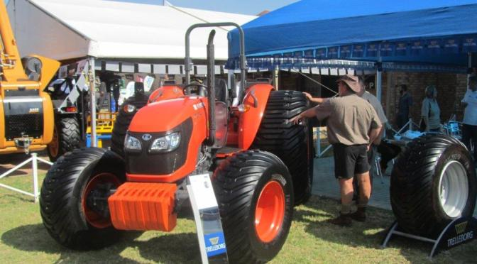 Kubota and Trelleborg – a partnership that never tires