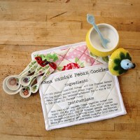 12 Days of Handmade Gifts- DIY Recipe Potholders - My So ...