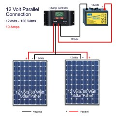 Wiring Diagram Of Solar Panel System Whirlpool Dryer Panels In Parallel – Mysolarshop