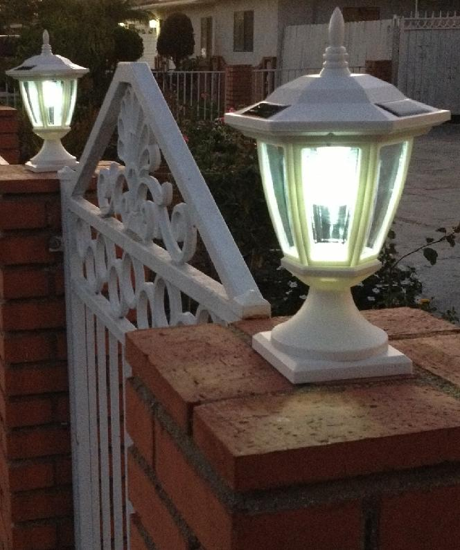 Fence Wall Mount Solar Lights