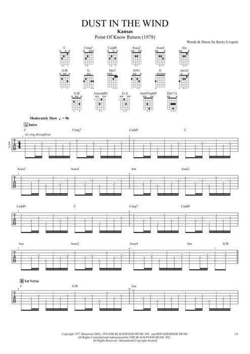 Famous Wild Horses Guitar Chords Image - Guitar Ukulele Piano music ...