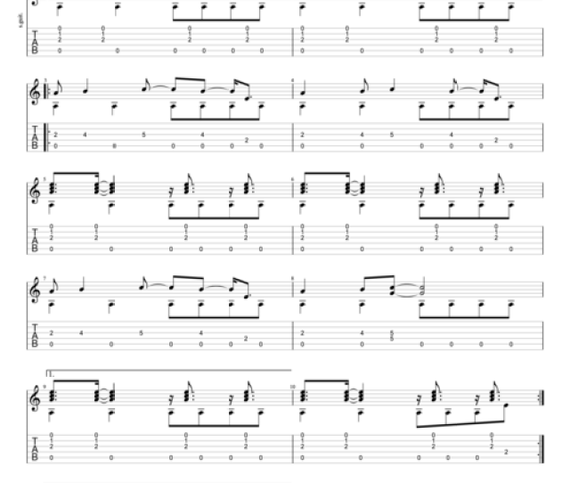 Another Brick In The Wall Part 2 By Pink Floyd Intermediate Solo Guitar Guitar Pro Tab Mysongbook Com