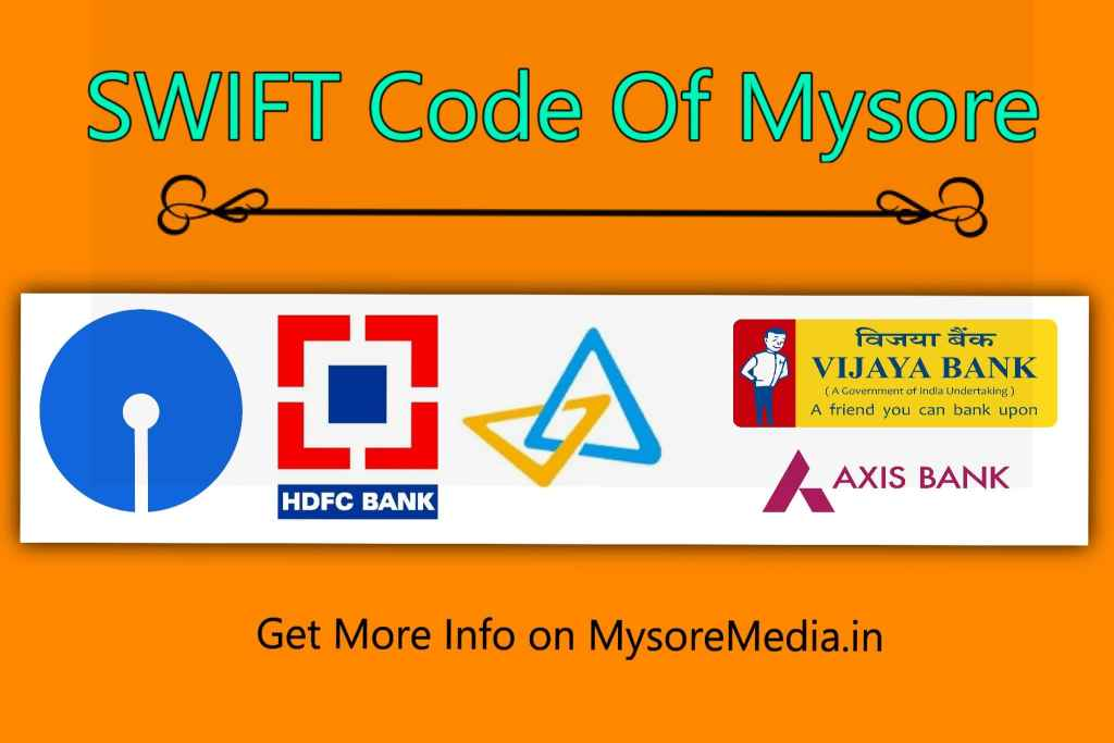 SWIFT Code of Mysore