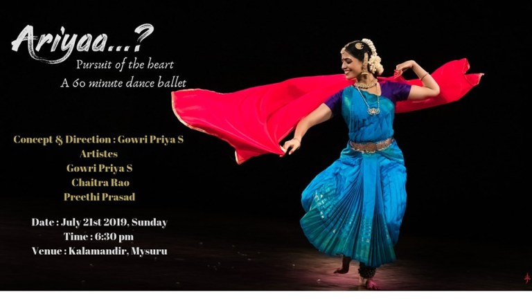 Ariyaa - A Bharatnatyam Experience