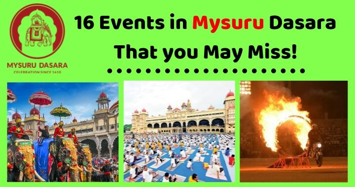 16 Events in Mysuru Dasara 2019